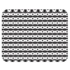 Pattern Background Texture Black Double Sided Flano Blanket (Medium)