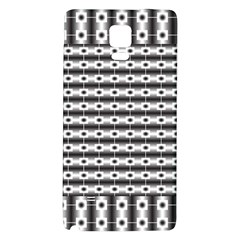 Pattern Background Texture Black Galaxy Note 4 Back Case