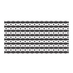 Pattern Background Texture Black Satin Wrap