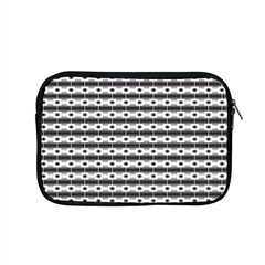 Pattern Background Texture Black Apple MacBook Pro 15  Zipper Case