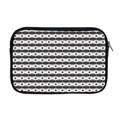Pattern Background Texture Black Apple MacBook Pro 17  Zipper Case
