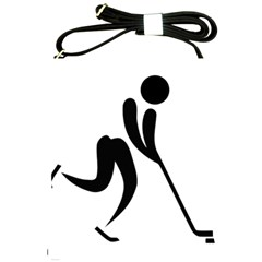 Ice Hockey Pictogram Shoulder Sling Bags by abbeyz71
