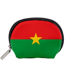 Flag Of Burkina Faso Accessory Pouches (small)  by abbeyz71