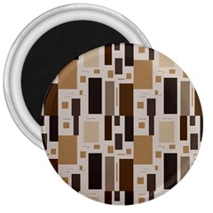 Pattern Wallpaper Patterns Abstract 3  Magnets by Nexatart