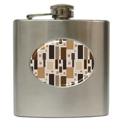 Pattern Wallpaper Patterns Abstract Hip Flask (6 Oz) by Nexatart