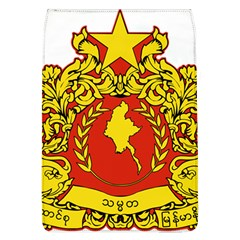 State Seal Of Myanmar Flap Covers (l)  by abbeyz71