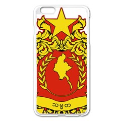 State Seal Of Myanmar Apple Iphone 6 Plus/6s Plus Enamel White Case by abbeyz71
