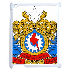 State Seal Of Burma, 1974 2008 Apple Ipad 2 Case (white) by abbeyz71