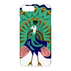 Burma Green Peacock National Symbol  Apple Iphone 7 Plus Hardshell Case