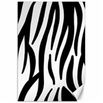 Seamless Zebra Pattern Canvas 20  x 30   30 x20 Canvas - 1