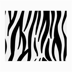 Seamless Zebra Pattern Small Glasses Cloth (2 Side)