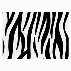 Seamless Zebra Pattern Large Glasses Cloth (2 Side)