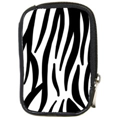 Seamless Zebra Pattern Compact Camera Cases