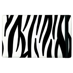 Seamless Zebra Pattern Apple Ipad 2 Flip Case