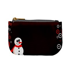 Snowman Holidays, Occasions, Christmas Mini Coin Purses
