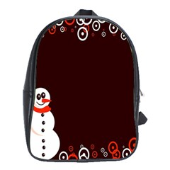 Snowman Holidays, Occasions, Christmas School Bags (xl)