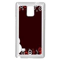 Snowman Holidays, Occasions, Christmas Samsung Galaxy Note 4 Case (white)