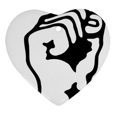 Skeleton Right Hand Fist Raised Fist Clip Art Hand 00wekk Clipart Ornament (heart)
