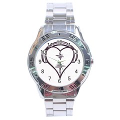 Audio Heart Tattoo Design By Pointofyou Heart Tattoo Designs Home R6jk1a Clipart Stainless Steel Analogue Watch by Foxymomma