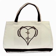 Audio Heart Tattoo Design By Pointofyou Heart Tattoo Designs Home R6jk1a Clipart Basic Tote Bag