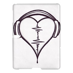 Audio Heart Tattoo Design By Pointofyou Heart Tattoo Designs Home R6jk1a Clipart Samsung Galaxy Tab S (10 5 ) Hardshell Case  by Foxymomma