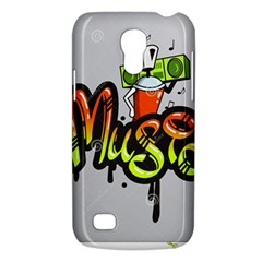 Graffiti Word Character Print Spray Can Element Player Music Notes Drippy Font Text Sample Grunge Ve Galaxy S4 Mini by Foxymomma