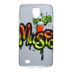 Graffiti Word Character Print Spray Can Element Player Music Notes Drippy Font Text Sample Grunge Ve Galaxy S4 Active by Foxymomma