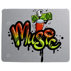 Graffiti Word Character Print Spray Can Element Player Music Notes Drippy Font Text Sample Grunge Ve Jigsaw Puzzle Photo Stand (rectangular)