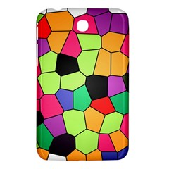 Stained Glass Abstract Background Samsung Galaxy Tab 3 (7 ) P3200 Hardshell Case  by Nexatart