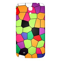 Stained Glass Abstract Background Samsung Galaxy Mega I9200 Hardshell Back Case