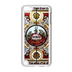 Stained Glass Skylight In The Cedar Creek Room In The Vermont State House Apple Ipod Touch 5 Case (white) by Nexatart