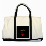 Strawberry Two Tone Tote Bag Front