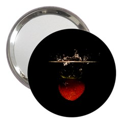 Strawberry 3  Handbag Mirrors by Nexatart