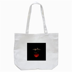 Strawberry Tote Bag (white)