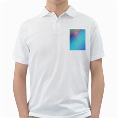 Water Droplets Golf Shirts