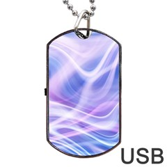 Abstract Graphic Design Background Dog Tag Usb Flash (one Side)