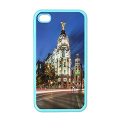 Architecture Building Exterior Buildings City Apple Iphone 4 Case (color) by Nexatart