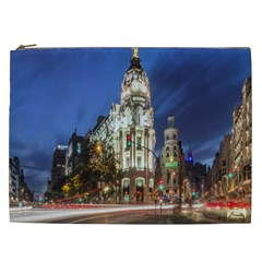 Architecture Building Exterior Buildings City Cosmetic Bag (xxl)  by Nexatart