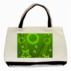 Art About Ball Abstract Colorful Basic Tote Bag by Nexatart