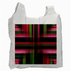 Background Texture Pattern Color Recycle Bag (two Side)  by Nexatart