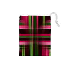 Background Texture Pattern Color Drawstring Pouches (small)