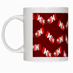 Christmas Crackers White Mugs