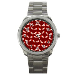 Christmas Crackers Sport Metal Watch by Nexatart