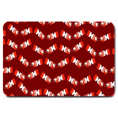 Christmas Crackers Large Doormat  by Nexatart