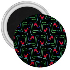Computer Graphics Webmaster Novelty Pattern 3  Magnets by Nexatart