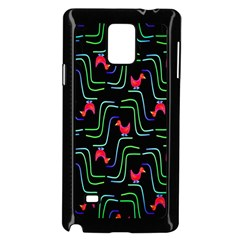 Computer Graphics Webmaster Novelty Pattern Samsung Galaxy Note 4 Case (black) by Nexatart