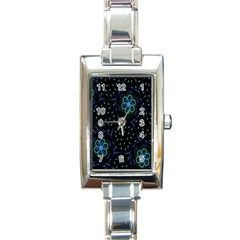 Computer Graphics Webmaster Novelty Rectangle Italian Charm Watch by Nexatart