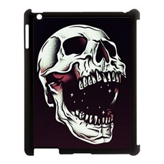 Death Skull Apple Ipad 3/4 Case (black) by Nexatart