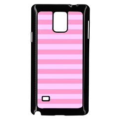 Fabric Baby Pink Shades Pale Samsung Galaxy Note 4 Case (black) by Nexatart