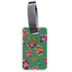 Flowers Pattern Luggage Tags (two Sides)